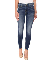 7 For All Mankind - The Ankle Skinny w/ Distress in Manchester Square