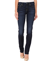 7 For All Mankind - Kimmie Straight in Dark Canterbury