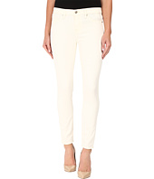 7 For All Mankind - The Ankle Skinny w/ Contour Waist Band in Winter White