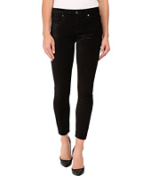 7 For All Mankind - The Ankle Skinny w/ Contour Waist Band in Black Velvet