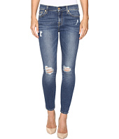 7 For All Mankind - The Ankle Skinny w/ Contour Waist Band in Medium Melrose