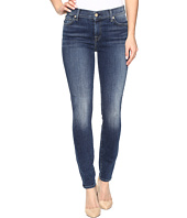 7 For All Mankind - The Ankle Skinny w/ Navy Tonal Squiggle in High Street