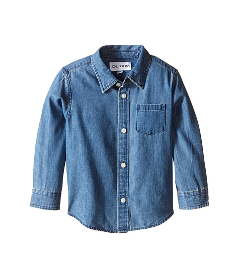Dl1961 kids franklyn chambray shirt infant at for Chambray shirt for kids