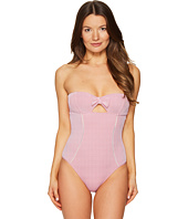 Emporio Armani - Seaworld Ajour One-Piece Knit Swimsuit