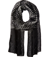 M Missoni - Spacedye Scarf with Solid Border