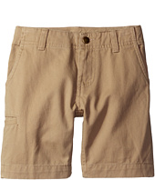 Carhartt Kids - Twill Work Shorts (Little Kids)