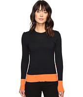 MICHAEL Michael Kors - Contrast Color Rib Sweater