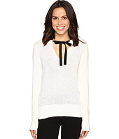MICHAEL Michael Kors - Velvet Tie Sequin Sweater