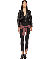 DSQUARED2 - Leather Knotted Shirt Kiodo