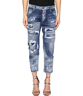 DSQUARED2 - Cool Girl Cropped Jeans in Blue