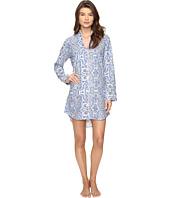 BedHead - Long Sleeve Mandarin Collar Nightshirt