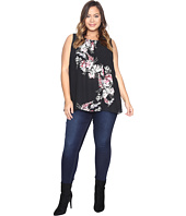 Vince Camuto Specialty Size - Plus Size Sleeveless Winter Gerland Blouse