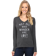 Life is Good - Michigan State Not All Who Wander Long Sleeve Cool Tee