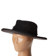 The Kooples - Laurent Wool Felt Hat w/ Straw