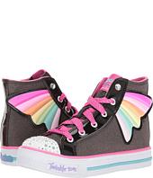 SKECHERS KIDS - Twinkle Toes - Shuffles 10707L Lights (Little Kid/Big Kid)