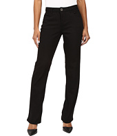FDJ French Dressing Jeans - Petite Supreme Denim Olivia Straight Leg in Black