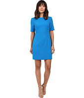 Ellen Tracy - Seamed Short Sleeve Dress