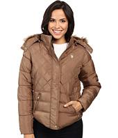 U.S. POLO ASSN. - Fur Hooded Puffer Jacket