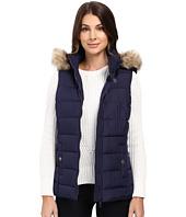 U.S. POLO ASSN. - Long Vest with Fur Hood