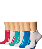 adidas Kids - Vertical Stripe 6-Pack Low Cut Socks (Toddler/Little Kid/Big Kid/Adult)