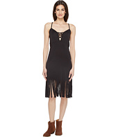 Roper - 0943 Poly Spandex Fringed Tank Dress