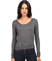 Splendid - Crop Sweater Cashmere Blend