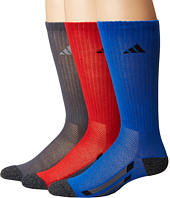 adidas Kids - Vertical Stripe Crew 6-Pack (Toddler/Little Kid/Big Kid/Adult)