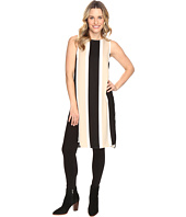 Vince Camuto - Sleeveless Deco Bold Stripe Tunic w/ Side Slits