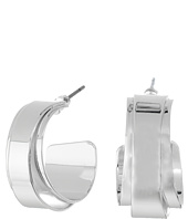 LAUREN Ralph Lauren - City Chic Silver Metal Double Wrap Hoop Earrings