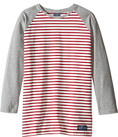 Toobydoo - Red Stripe Baseball Tee (Infant/Toddler/Little Kids/Big Kids)