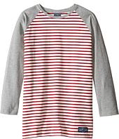 Toobydoo - Red Stripe Baseball Tee (Infant/Toddler/Little Kids/Big Kids)