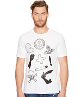 Vivienne Westwood - Anglomania Lee Classic Mix Logo's T-Shirt
