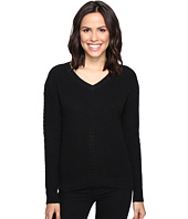 Michael Stars - Alpine Knit V-Neck Cold Shoulder Sweater