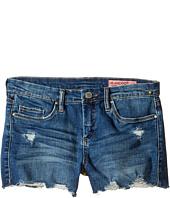 Blank NYC Kids - Denim Distressed Cut Off Shorts (Big Kids)