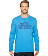 Life is Good - Old School Truck Long Sleeve Crusher Tee