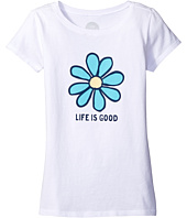 Life is Good Kids - Daisy Life is Good® Tee (Little Kids/Big Kids)