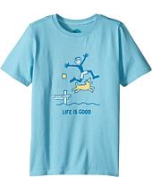Life is Good Kids - Dock Jump Crusher Tee (Little Kids/Big Kids)