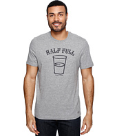 Life is Good - Half Full Arc Crusher Tee