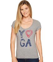 Life is Good - Yoga Heart Smooth Tee