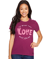 Life is Good - Love Garden Crusher Tee