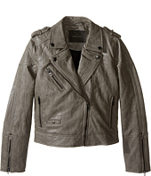 Blank NYC Kids - Vegan Leather Moto Jacket (Big Kids)