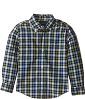 Polo Ralph Lauren Kids - Poplin Long Sleeve Button Down Shirt (Toddler)
