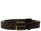35mm Italian Leather and Linen Tubular Woven