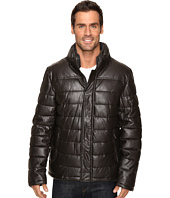 Dockers - Fly Front Quilted Puffer w/ Sherpa Lined Collar
