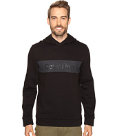 Calvin Klein - Long Sleeve Fabric Blocked Printed Hoodie