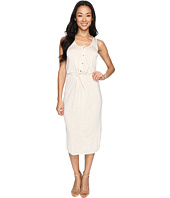 Culture Phit - Elisa Sleeveless Button Up Dress with Twist Detail