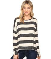 Culture Phit - Masie Round Neck Striped Sweater