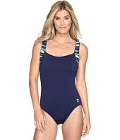 TYR - Bellvue Stripe Square Neck Controlfit