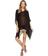Bindya - Neon Tassel Cover-Up Dress