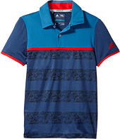 adidas Golf Kids - Camo Stripe Polo (Big Kids)